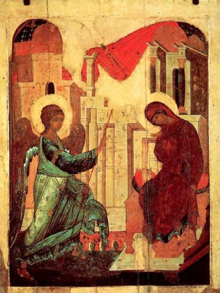 икона благовещенья