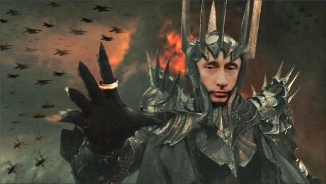 Путин-Саурон