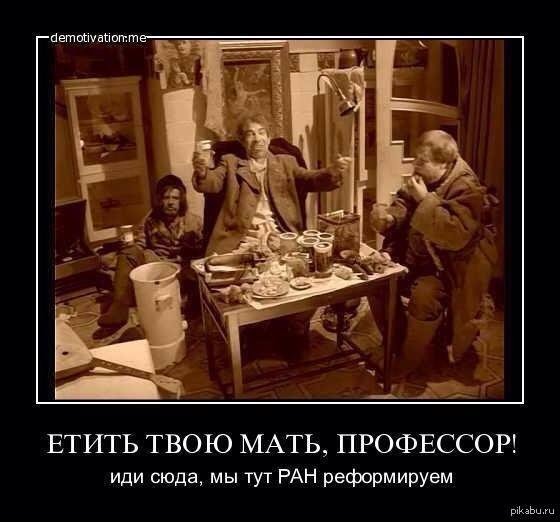 реформа РАН Шариков