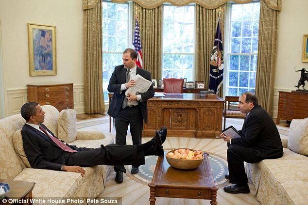 Снимите ноги со стола, мистер Президент