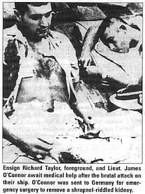 раненые моряки